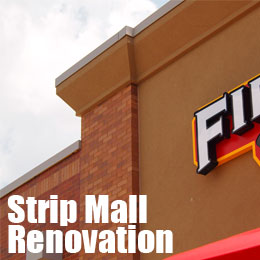 strip mall renovation